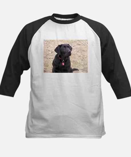 Black Lab Kids Baseball Jersey