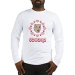 Cougar Hearts Long Sleeve T-Shirt