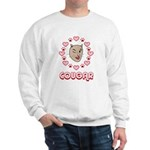 Cougar Hearts Sweatshirt
