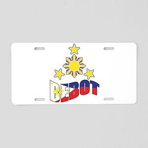 Bebot Aluminum License Plate