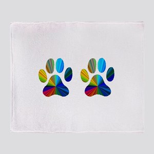 2 PAWS Throw Blanket