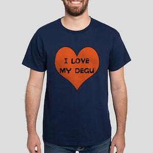 I Love my degu tshirt