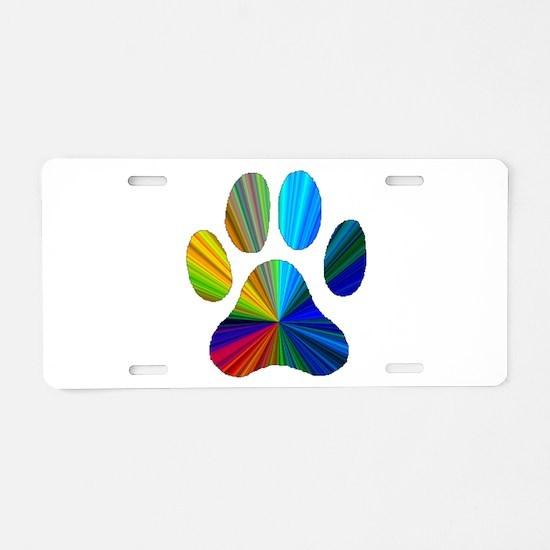 Unique Cat and dog Aluminum License Plate