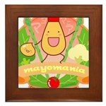 Mayomania Framed Tile