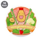 """Mayomania 3.5"""" Button (10 pack)"""