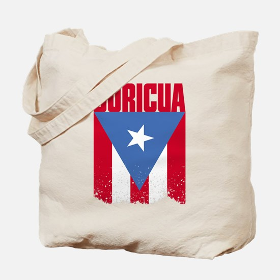 Boricua Flag Tote Bag