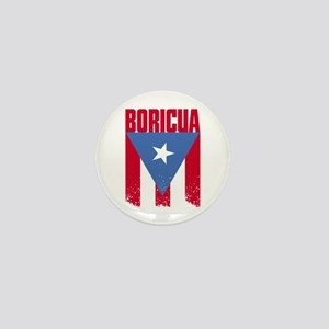Boricua Flag Mini Button