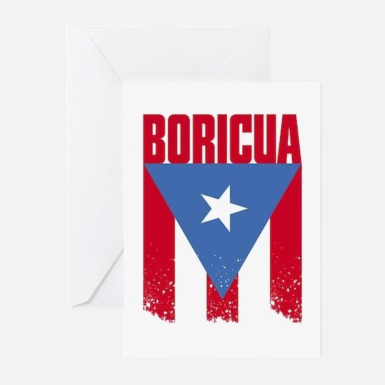 Boricua Flag Greeting Cards (Pk of 10)
