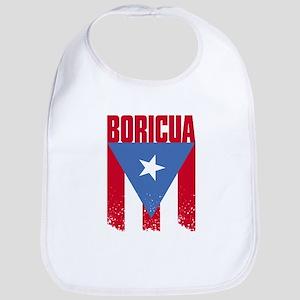 Boricua Flag Bib