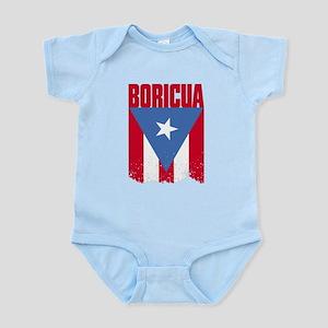 Boricua Flag Infant Bodysuit