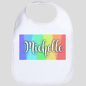 Michelle 2020 Rainbow Baby Bib