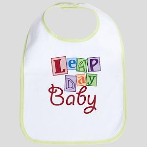 Leap Day Baby Bib
