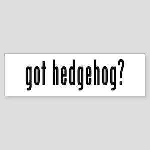 GOT HEDGEHOG Sticker (Bumper)