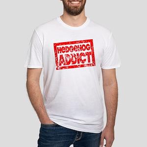 Hedgehog ADDICT Fitted T-Shirt