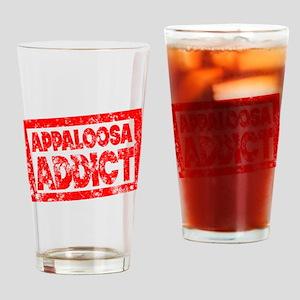 Appaloosa ADDICT Drinking Glass