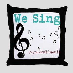 Chorus Throw Pillow