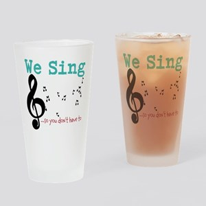 Chorus Drinking Glass