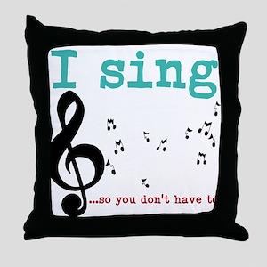 Chorus 2 Throw Pillow