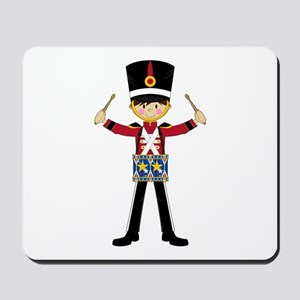 Nutcracker Soldier with Drum Mousepad