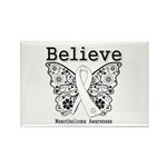 Believe - Mesothelioma Rectangle Magnet (10 pack)
