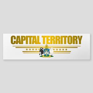 """""""Capital Territory"""" Sticker (Bumper)"""