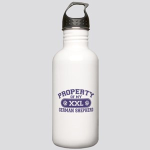 German Shepherd PROPERTY Stainless Water Bottle 1.