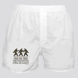 One By One The Sasquatch Boxer Shorts