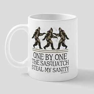 One By One The Sasquatch Mug