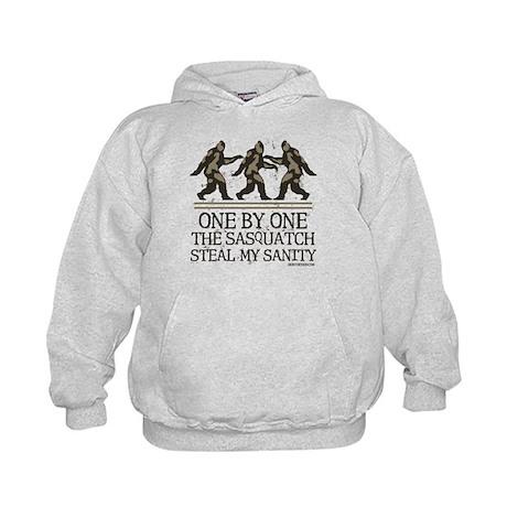 One By One The Sasquatch Kids Hoodie