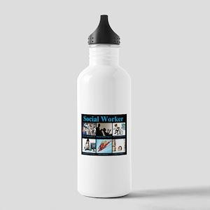 Social Worker Job Stainless Water Bottle 1.0L