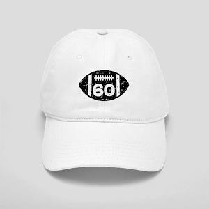 60th Birthday football Cap