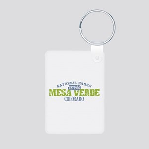 Mesa Verde Colorado Aluminum Photo Keychain