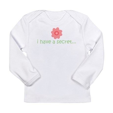ihaveasecret_front Long Sleeve T-Shirt