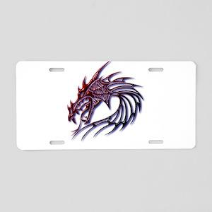 Dragons Head Aluminum License Plate