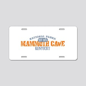 Mammoth Cave National Park KY Aluminum License Pla