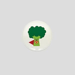 Super Broccoli Mini Button