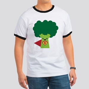 Super Broccoli Ringer T