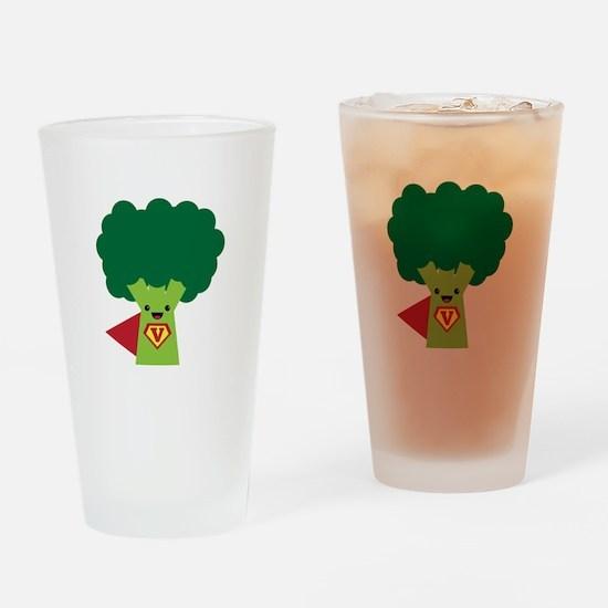 Super Broccoli Drinking Glass