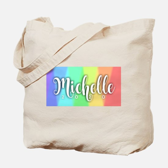 Michelle 2020 Rainbow Tote Bag