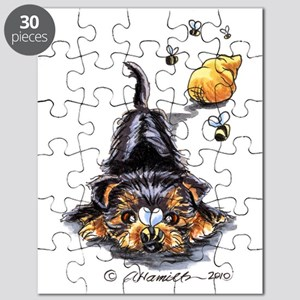Bee Yorkie Lover Puzzle