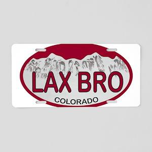 Lax Bro Colo Plate Aluminum License Plate