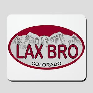 Lax Bro Colo Plate Mousepad
