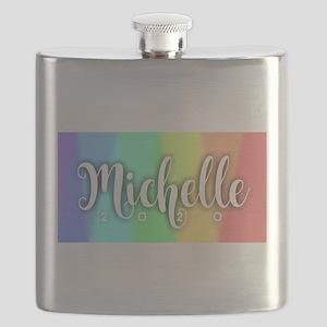 Michelle 2020 Rainbow Flask