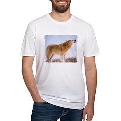 Howling White Wolf Shirt