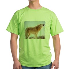 Howling White Wolf T-Shirt