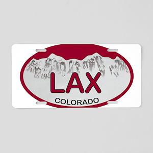 Lax Colo Plate Aluminum License Plate