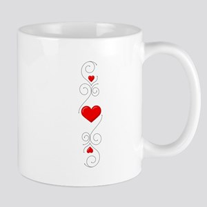 Heart Flourish 2 Mug