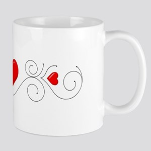 Heart Flourish 1 Mug
