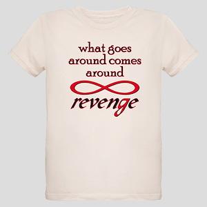revenge goes around black T-Shirt