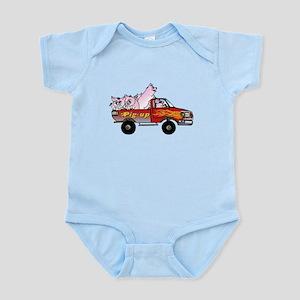 Pig-up Infant Bodysuit